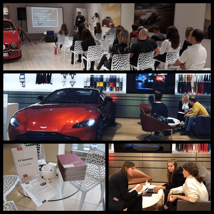 «Лидеры образования за рубежом»  при поддержке Rolls-Royce Avilon и Aston Martin Avilon
